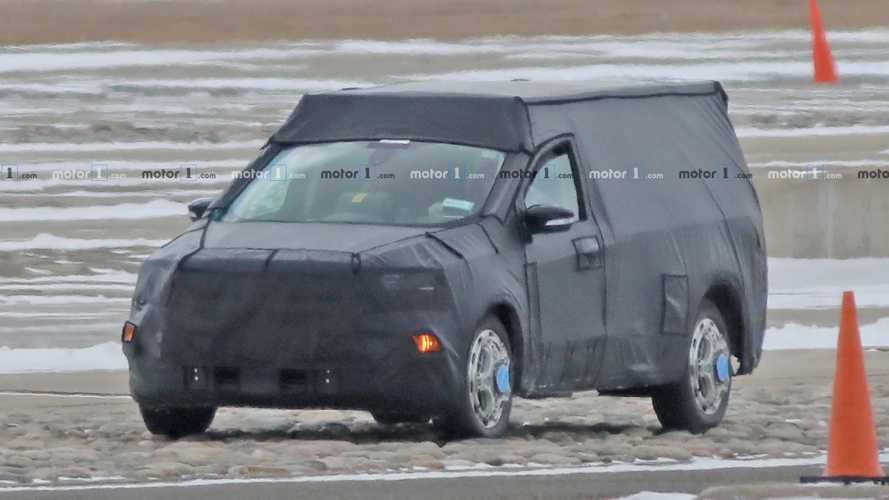 Ford's sub-Ranger, Focus-based pickup truck spied