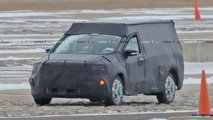 Ford Focus-Based Pickup Spy Photos