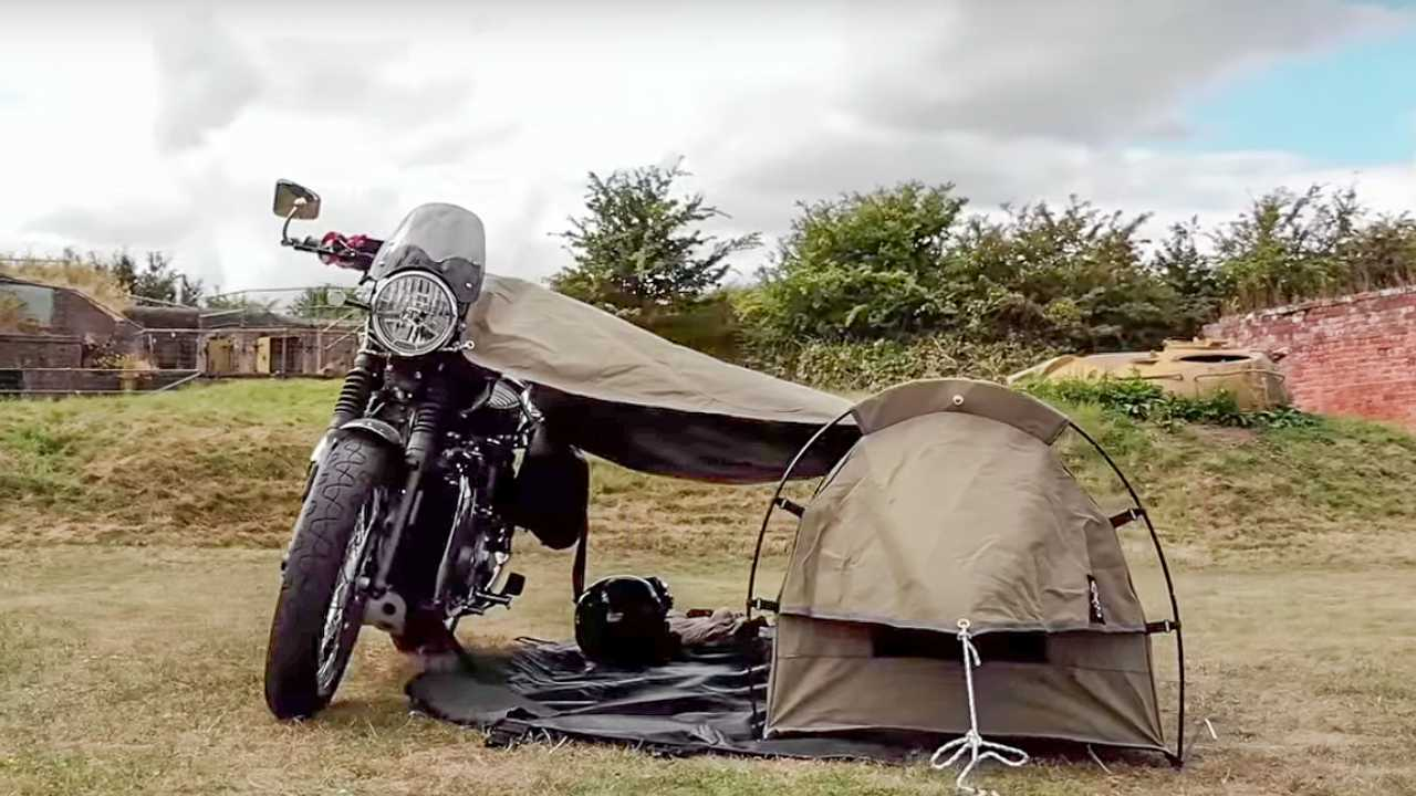 & Two Motorcycle Tents For Your Camping Consideration
