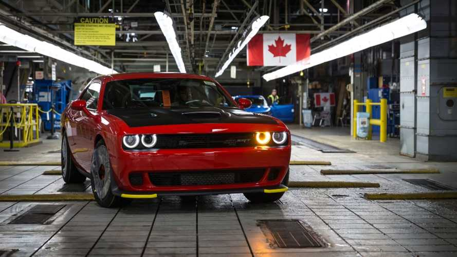 Dodge Challenger, Charger Production To Stop For Two Weeks