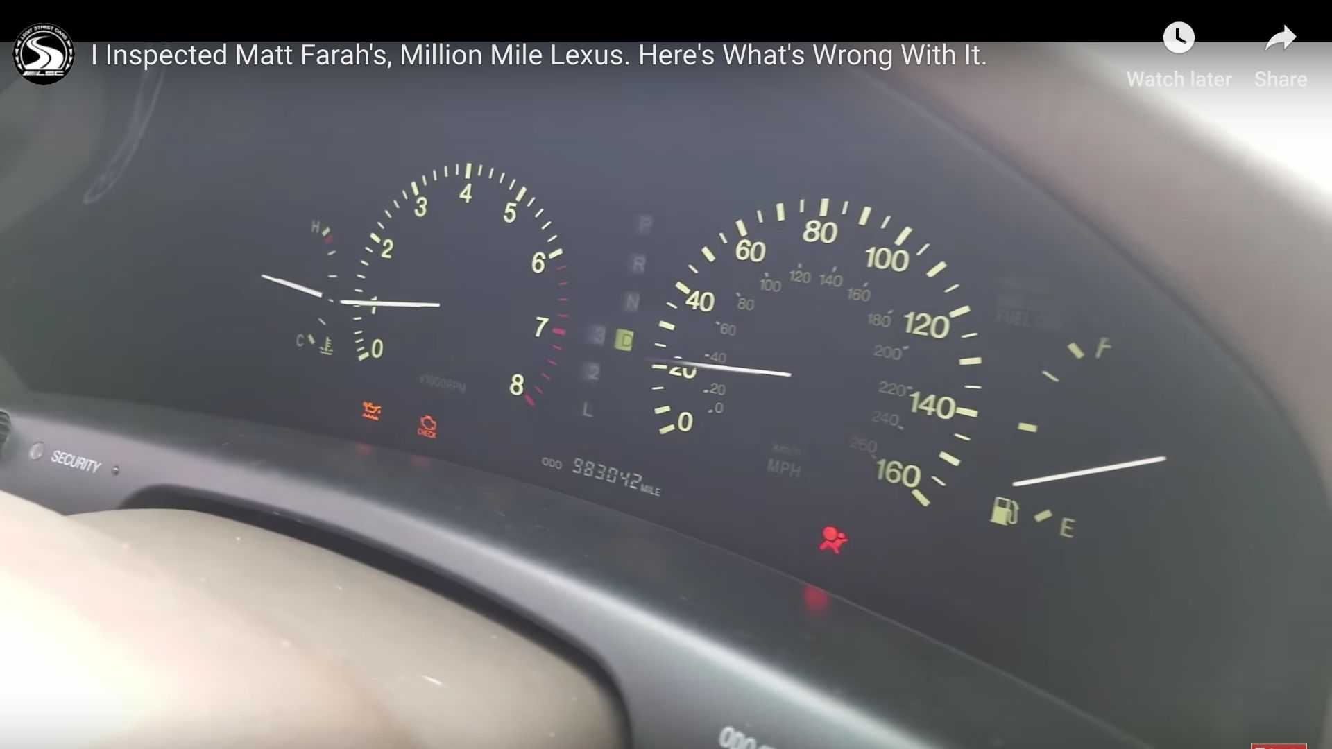 "[""Lexus LS400 Million Miles""]"
