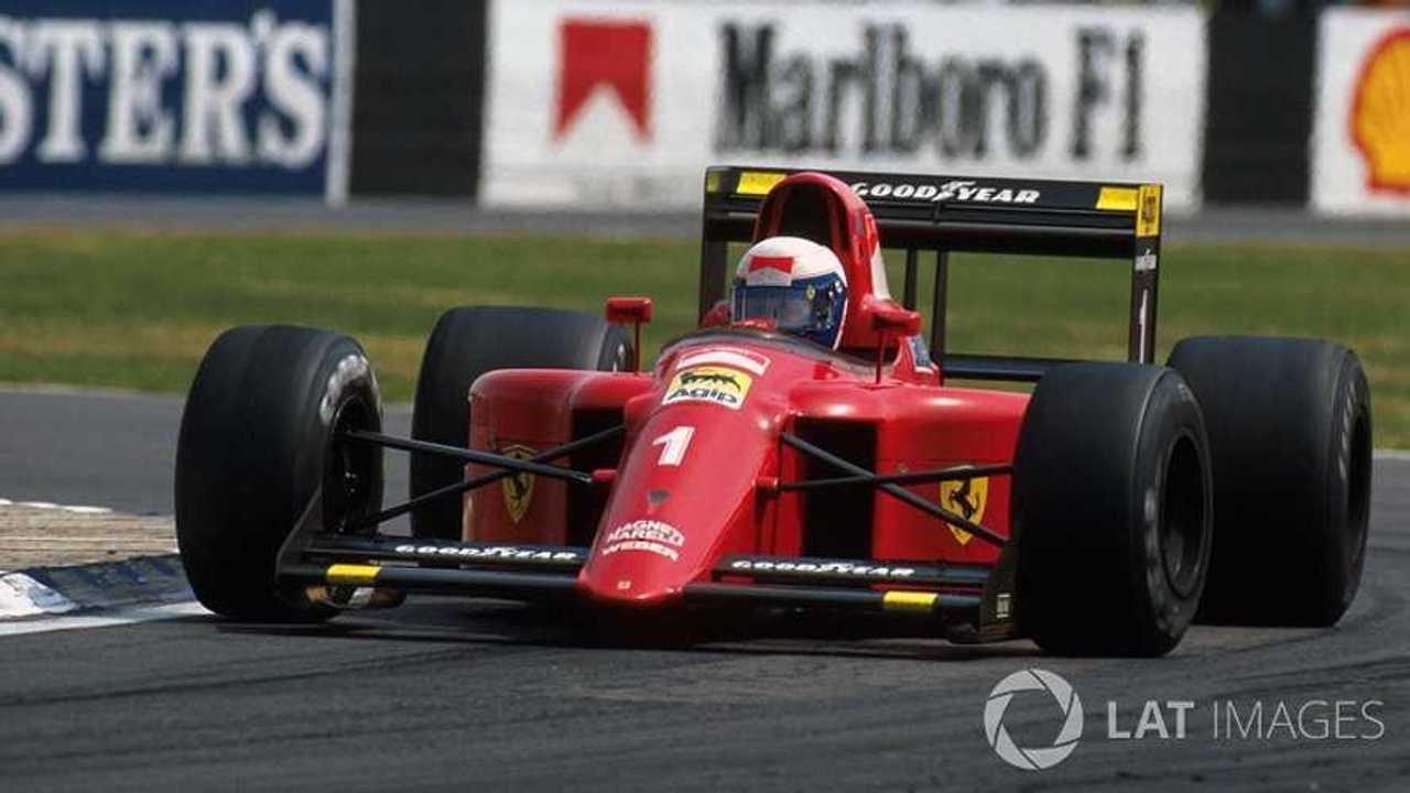 Alain Prost Ferrari F1 2019