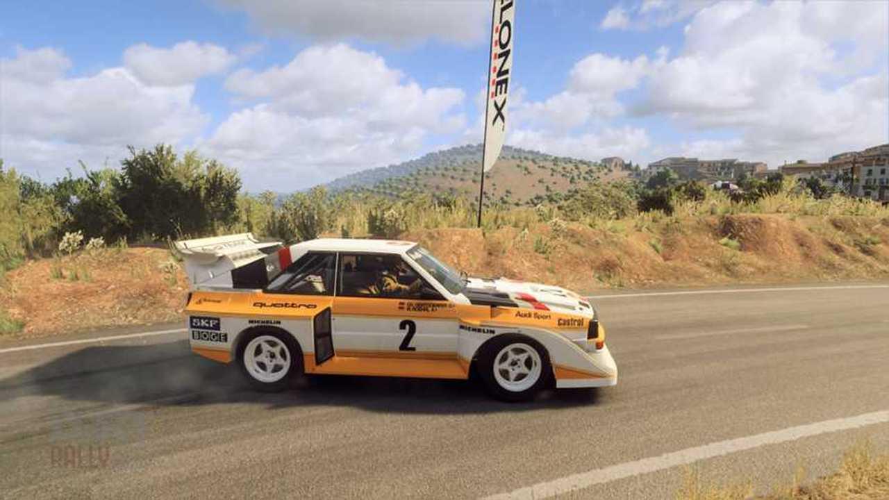 DiRT Rally 2.0, secuencias juego