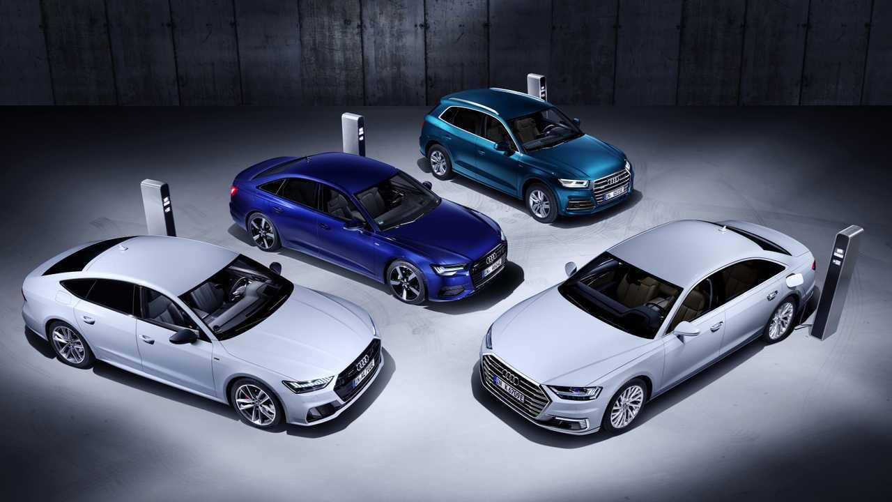 Audis neue Plug-in-Hybride (Marktstart noch 2019)