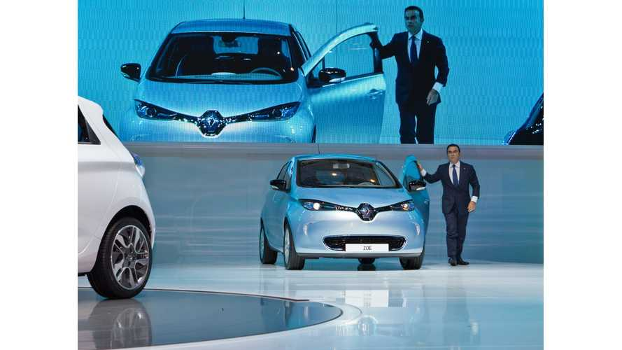 Renault-Nissan Alliance Aims to Soon Hit Mark of 100,000 Electric Vehicles Sold