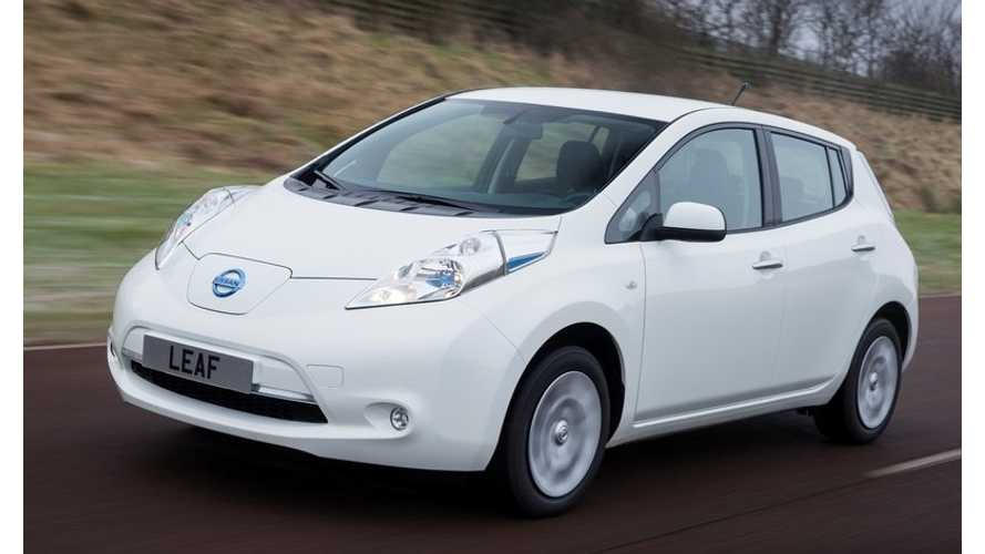 Pair of UK Cities to Add 30 Nissan LEAFs to Police Fleets