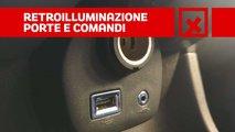 Contro - Retroilluminazione porte e comandi