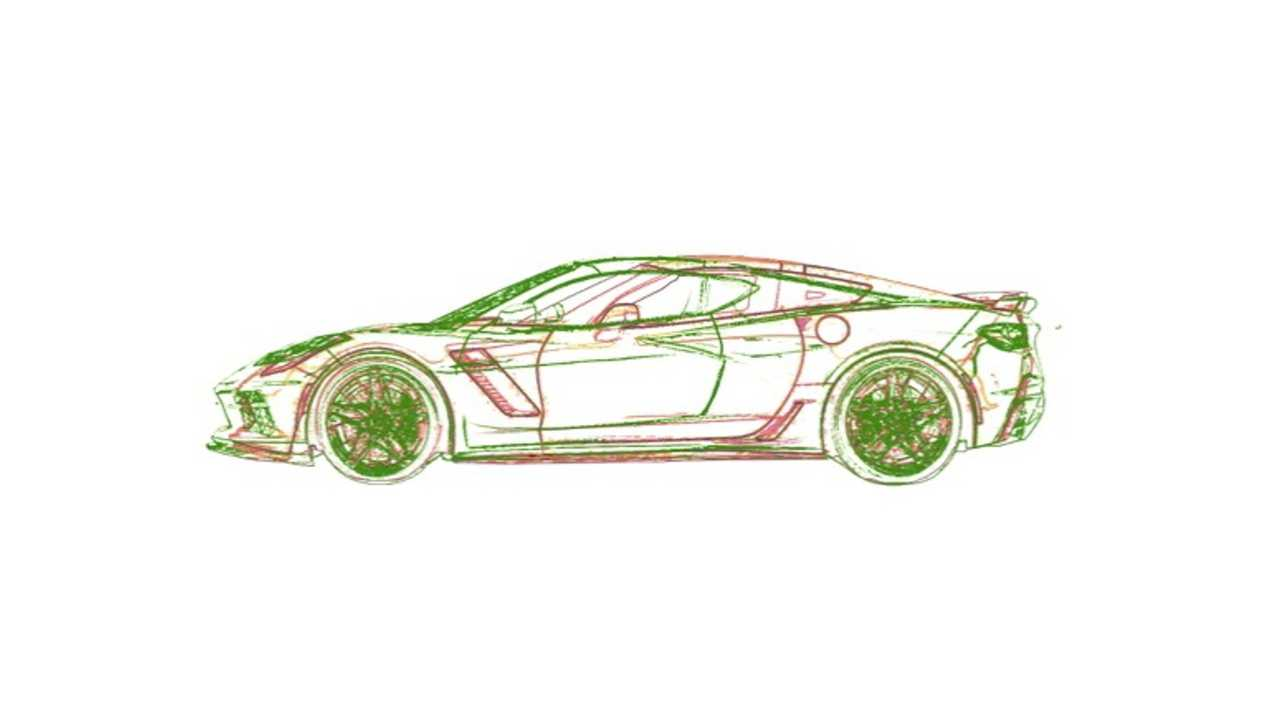 C8 Corvette Size Overlay