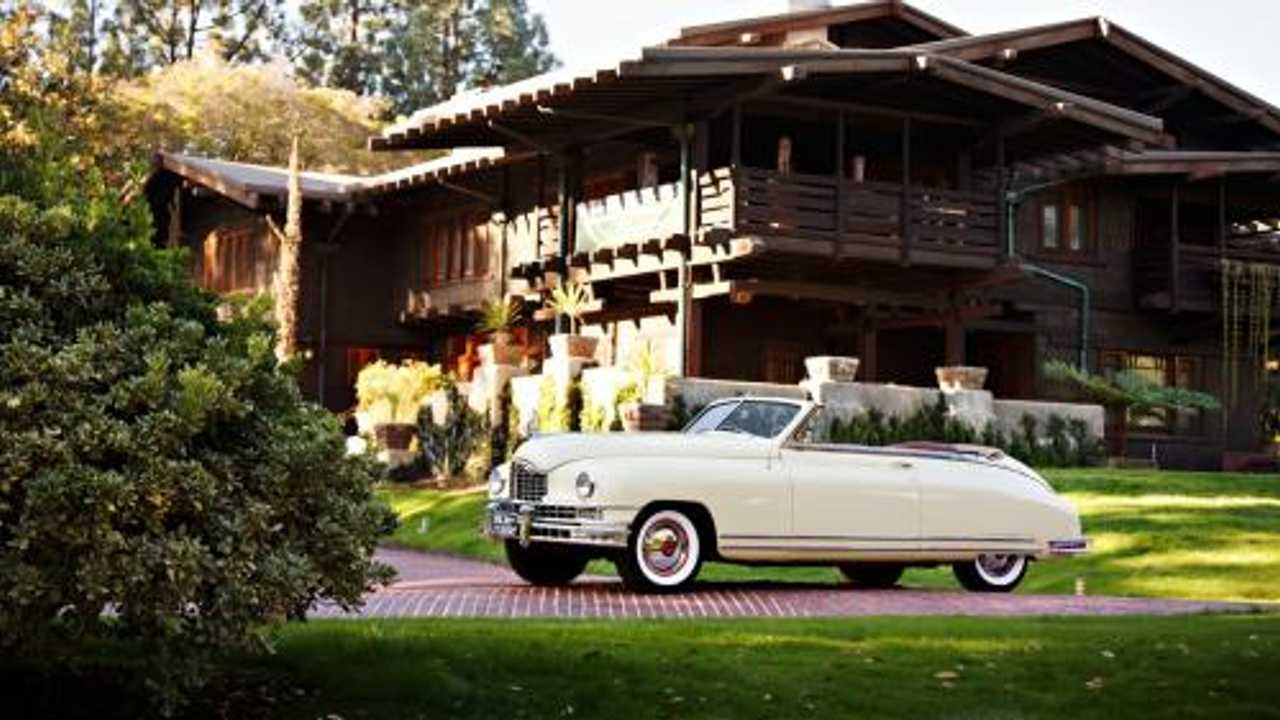 Back to the Future Packard Custom 8 is Cooler Than a DeLorean
