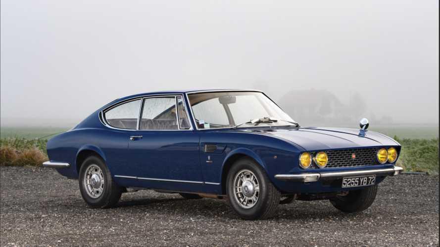 Rétromobile : 51'750€ pour cette Fiat Dino Coupé à moteur Ferrari V6