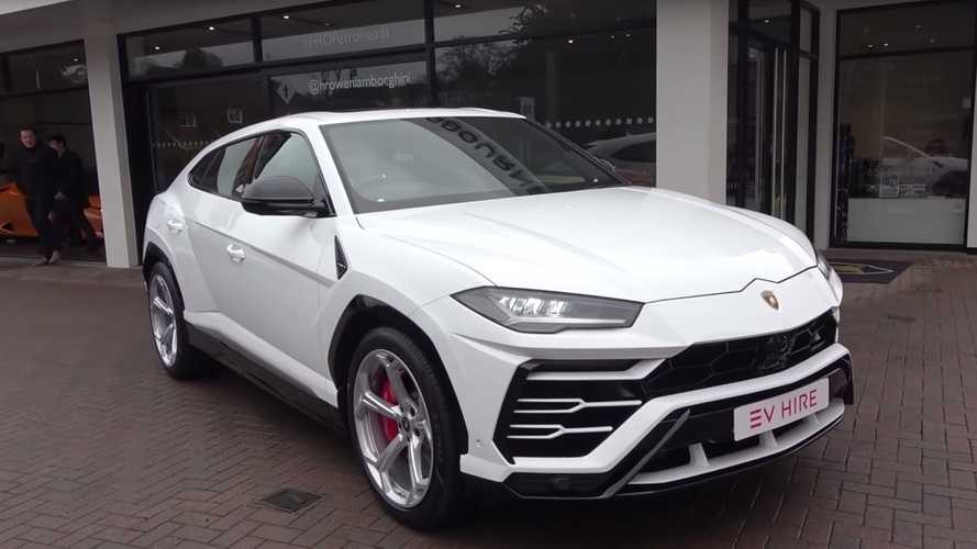 Lamborghini Urus SUVs are already hitting UK rental fleets