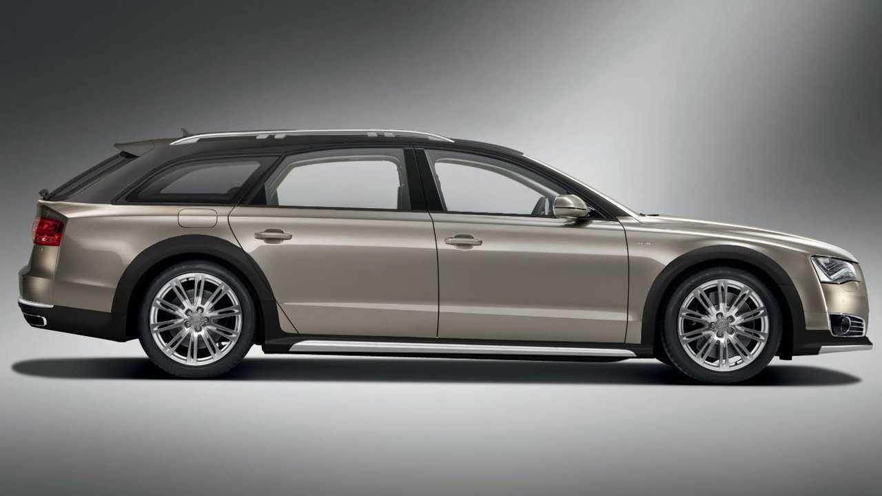 Audi A8 W12 Allroad