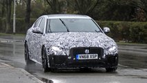 2020 Jaguar XE facelift spy photos