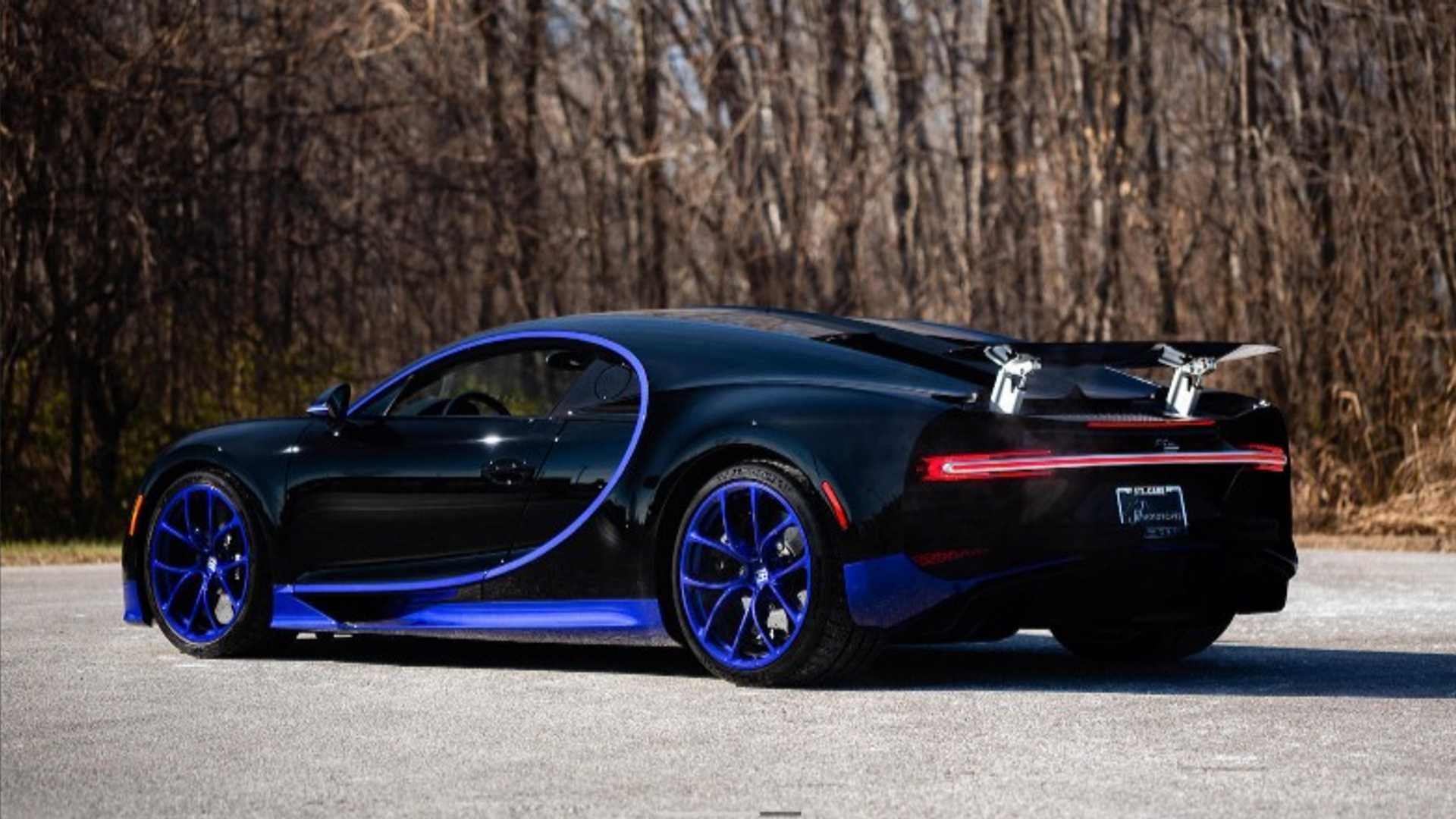 buy this barely used bugatti chiron, only $2.8m