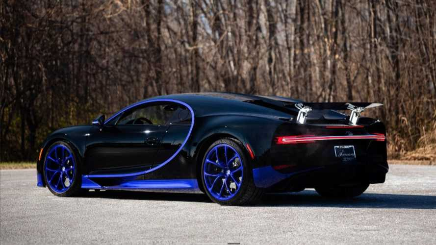 Buy this barely used Bugatti Chiron, only £2.2M