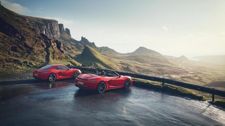 Así son los nuevos Porsche 718 Boxster T y 718 Cayman T 2019