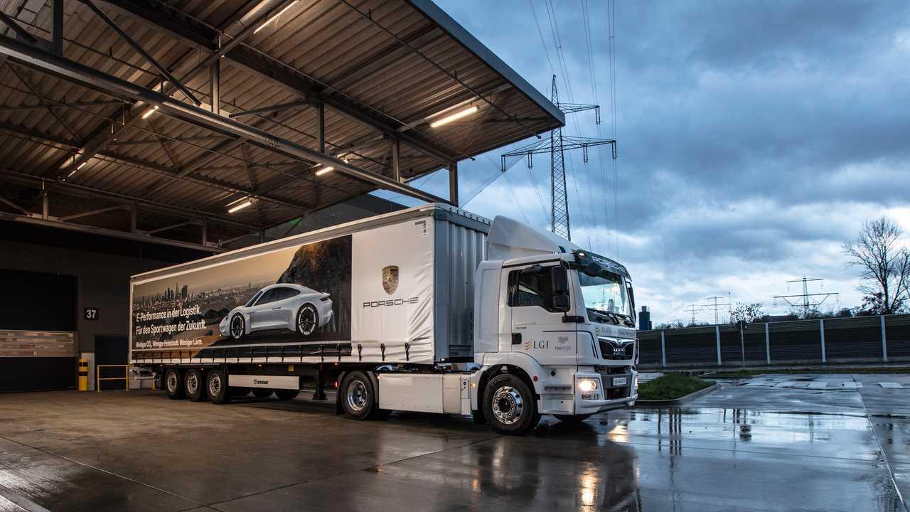 MAN eTGM e Porsche