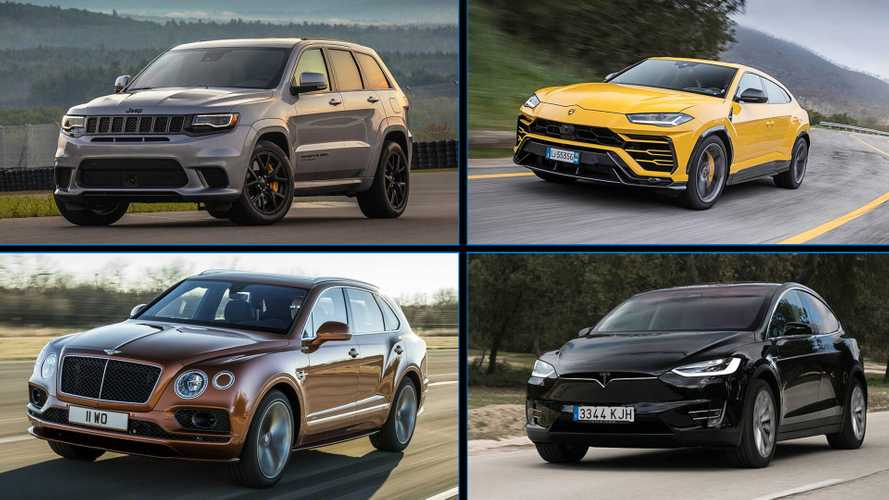 Especial: Os 10 SUVs mais potentes do mundo