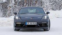 Porsche 718 Cayman GT4 Touring Spy Shots