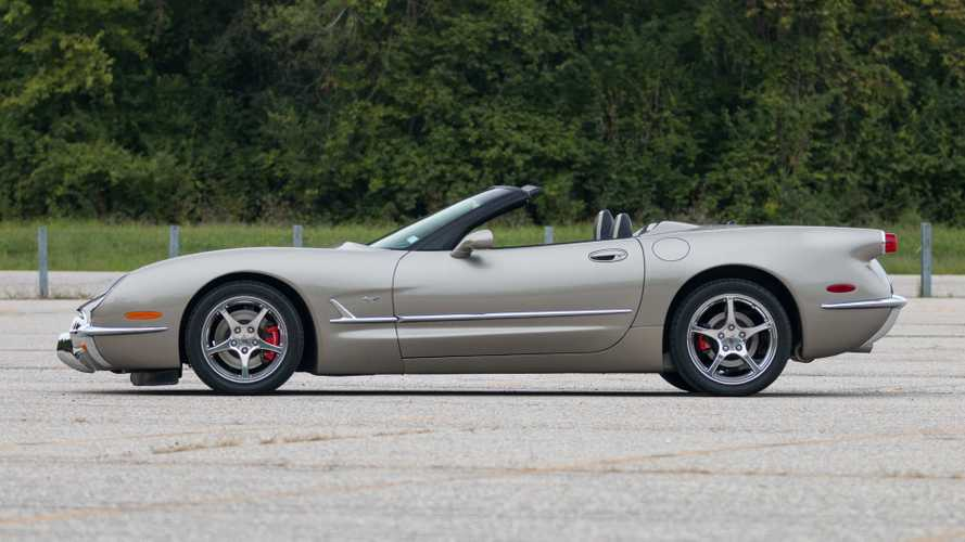Rare Commemorative Edition Corvette Hits The Marketplace