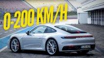 Porsche 911 Carrera S (2019) macht 0-200 km/h in 10 Sekunden