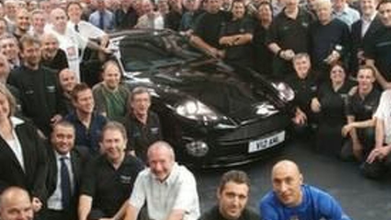 Aston Martin Celebrates End Of A 50 Year Era At Newport Pagnell