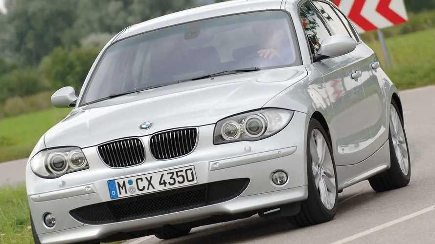 BMW Serie 1, le foto storiche