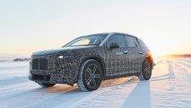 BMW iNeXT téli vezetési tesztben