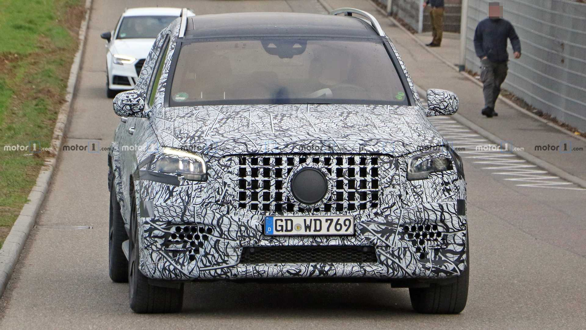 2021 Mercedes-AMG GLS 63 New Spy Photos Available >> 2021 Mercedes Amg Gls 63 Spied Looking Large And In Charge