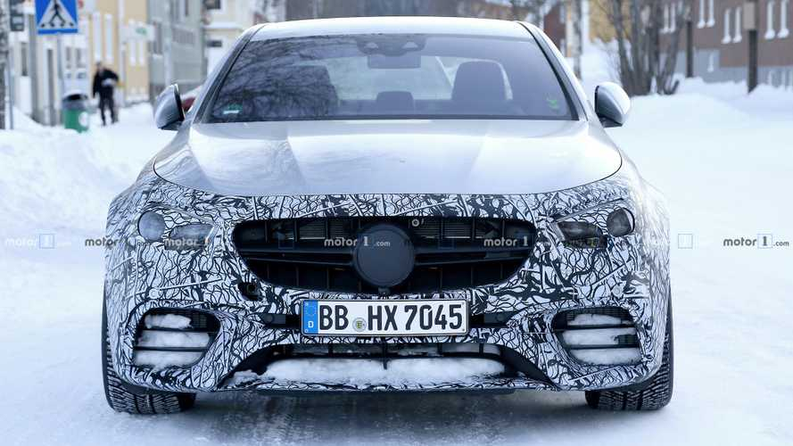 2021 Mercedes-AMG E63 facelift spy photos