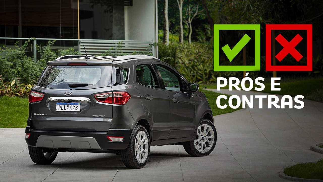Ford EcoSport 1.5 Titanium 2020 - Prós e Contras