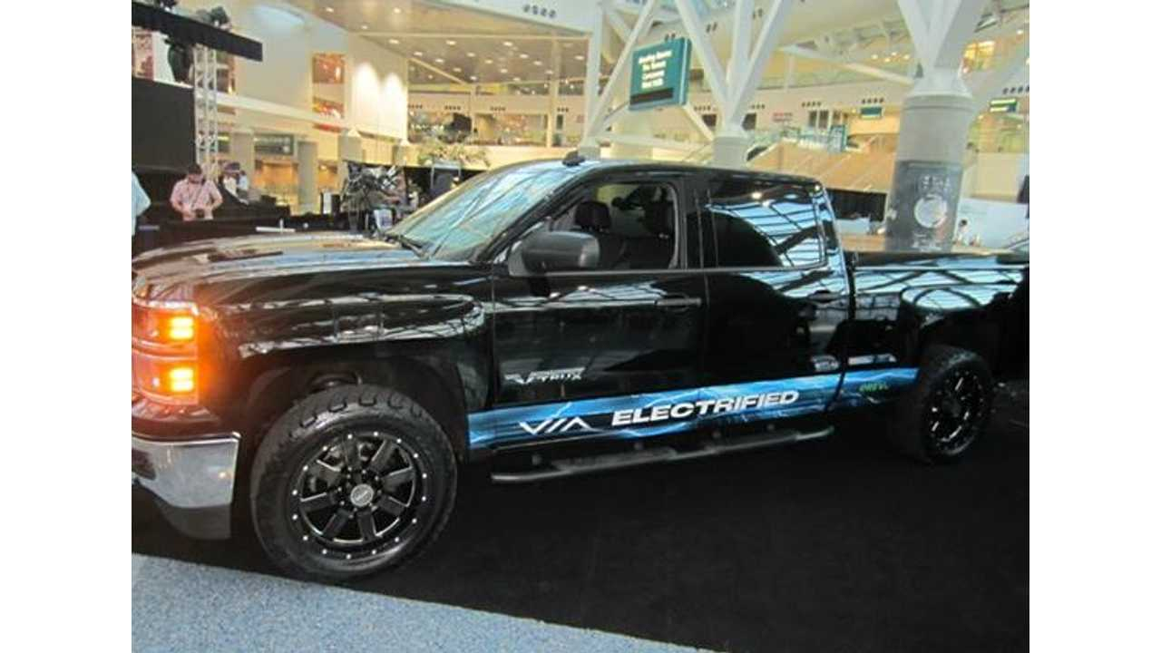 VIA Motors Shows Off Solar Tonneau Cover Good For An Extra 10 Miles Of Range