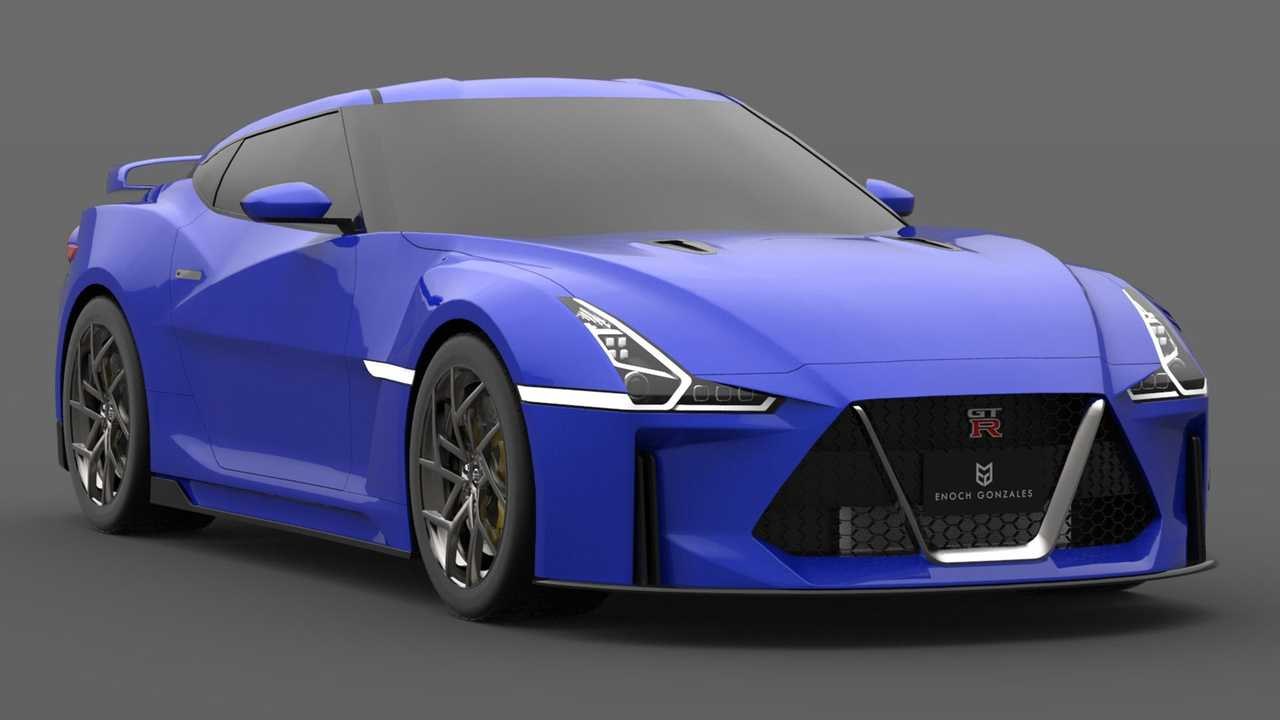 2021 Nissan GT-R Design Render | Motor1.com Photos