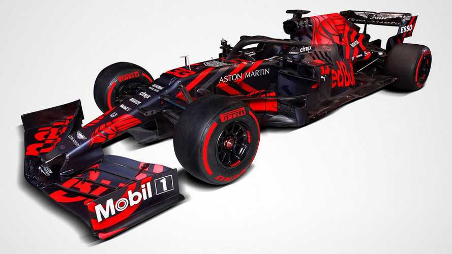 La Red Bull RB15 di Verstappen e Gasly è in rosso shocking!