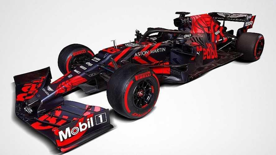 Photos - Red Bull dévoile sa première F1 à moteur Honda