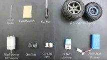 Making A Cardboard Car
