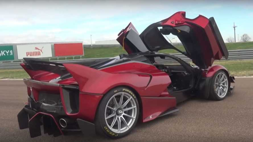 See what it's like to take delivery of a Ferrari FXX-K Evo