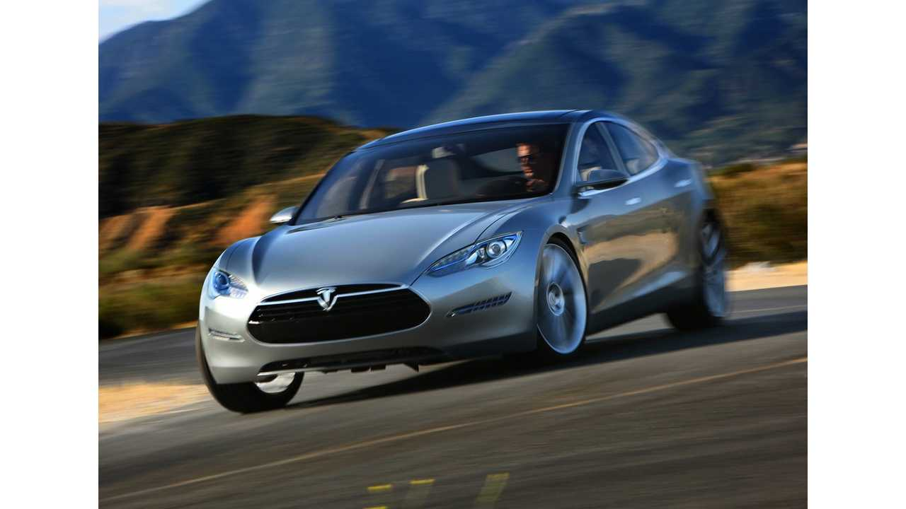 Although Short, Initial Test Drive Of Tesla S Positive