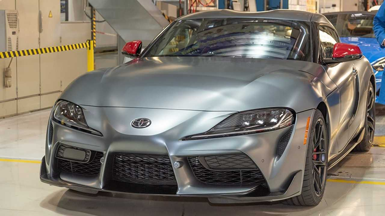 2020 Toyota Supra production start