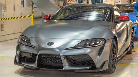 First 2020 Toyota Supra Rolls Off Magna Steyr Assembly Lines
