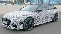 Audi RS6 Avant Spy Shots