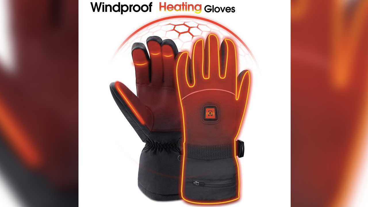 Heated Gloves - $74.99