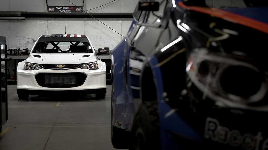LS3-powered Chevrolet Sonic rally car