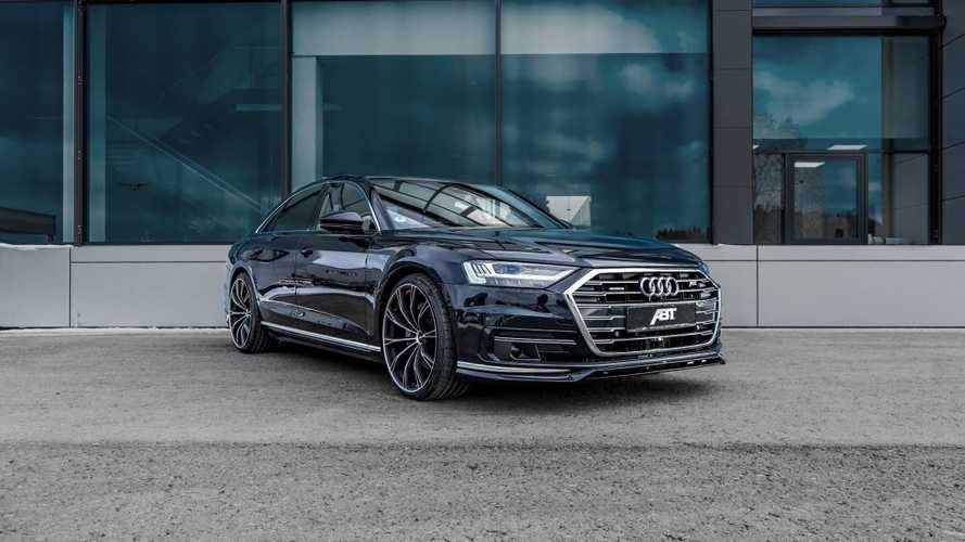Az ABT kezei alatt javult tovább az új Audi A8