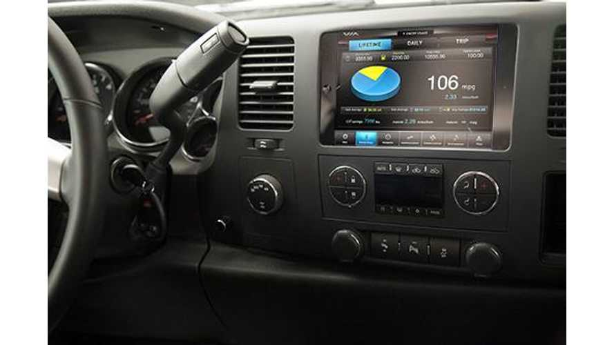 Via Motors Shows Off Integrated iPad In-Dash System