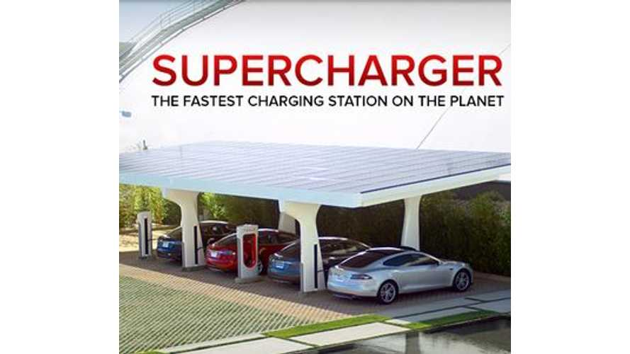 New Mexico to Soon Get Two Tesla Superchargers