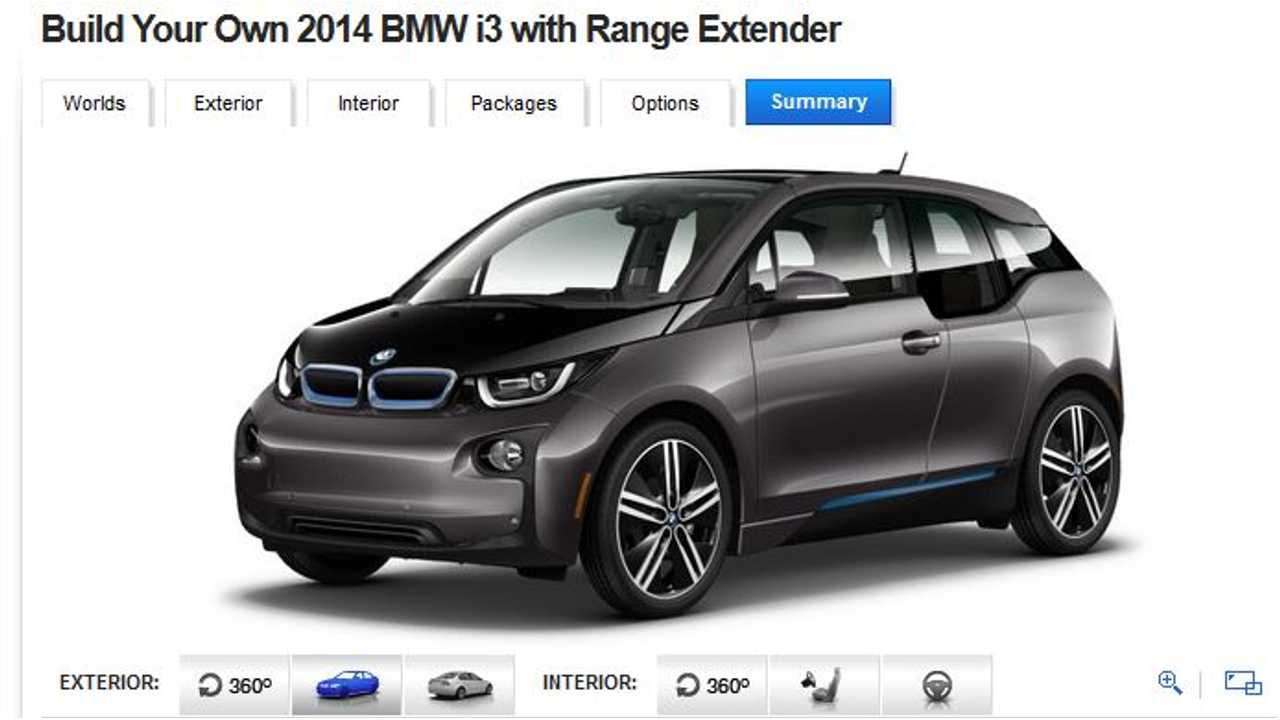 Loaded BMW i3 REx Costs $56,025