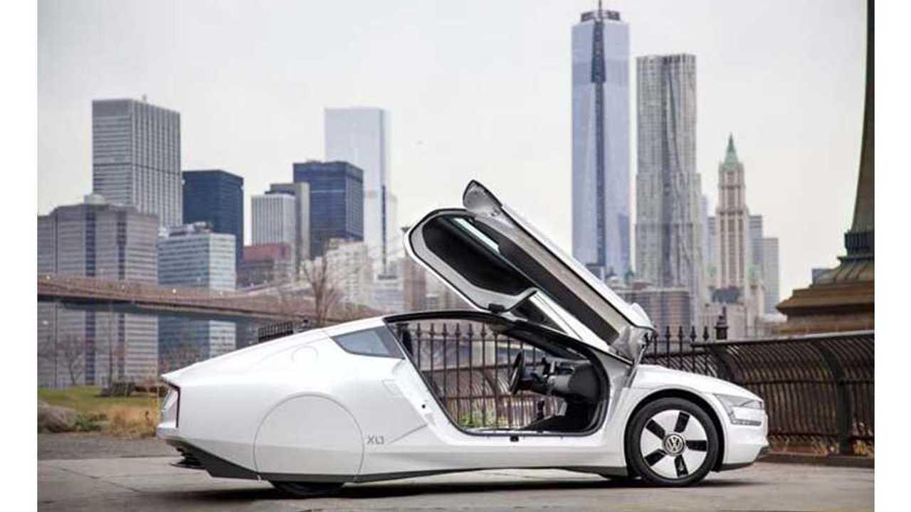 Volkswagen XL1 Shows Up in New York City