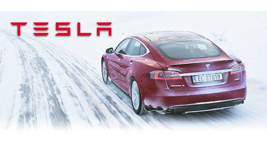 Video: Tesla Model S Winter Driving Redefined