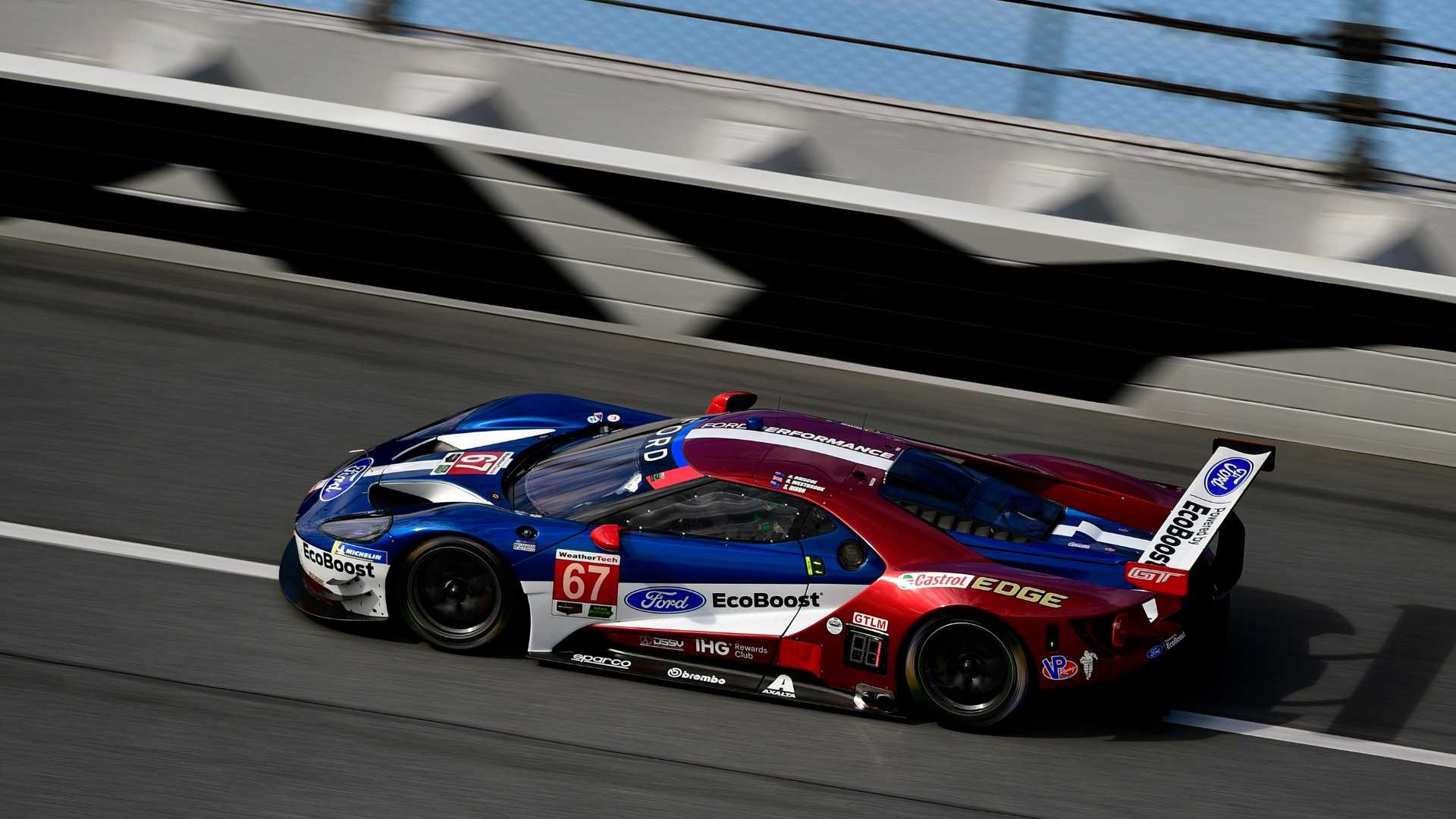"[""Scott Dixon, Ford GT, Ford Performance Chip Ganassi Racing Team USA, Daytona 24 Hours 2018""]"